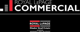 Royal LePage Binder Commercial Logo